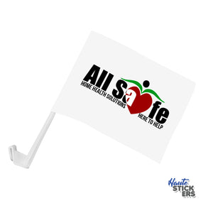 Personalized Car Flags (2x)