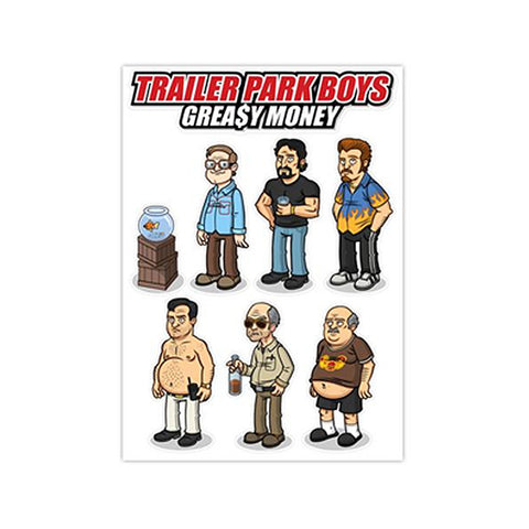 TPB Vinyl Character Stickers