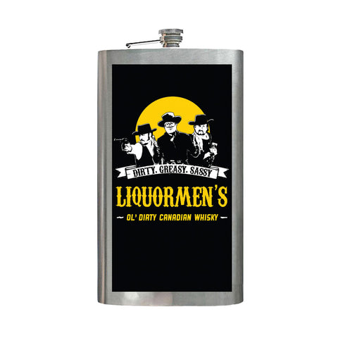 Liquormen's Extra Large Hip Flask