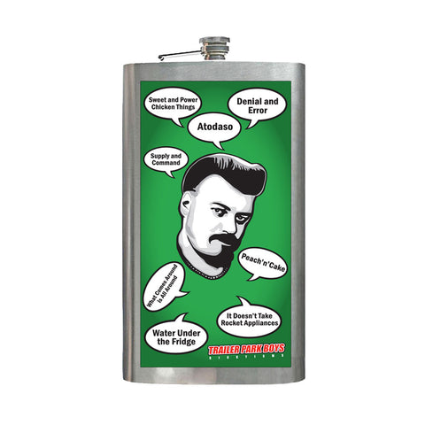 Rickyisms Extra Large Hip Flask
