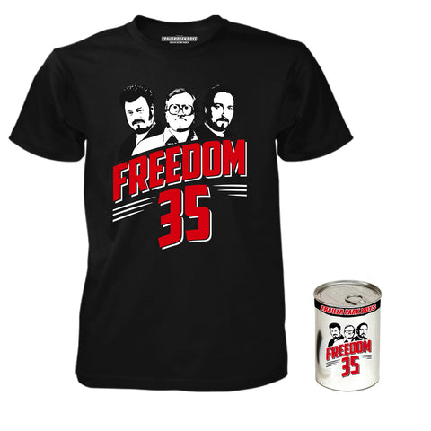 Freedom 35 T-Shirt in a Can