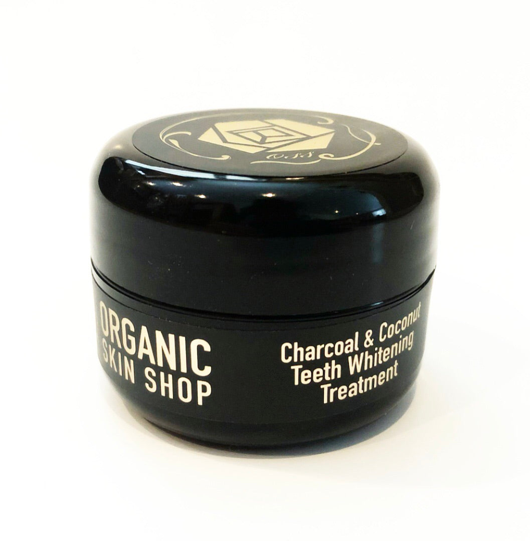 Teeth Whitening Treatment- Activated Charcoal & Coconut Oil Paste  - Organic Skin Shop
