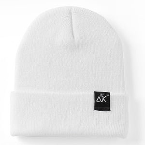 Unisex Hats Knitted ADK Tags Cap Woman Beaines For Winter Breathable Men Gorras Simple Hats Warm Solid Casual Lady Beanies