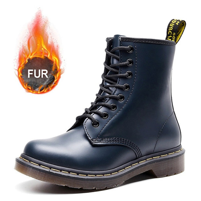 2019 New Men Boots For Martin Boots Male Shoes Adult Dr Motocycle Boots Warm Ankle Boots Winter Shoes Men Shoes Plus Size 47 48
