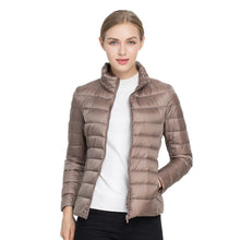 Winter Jacket Women Coat 2019 Warm Ultra Light Autumn Warm Duck Down Jacket Slim Women Autumn Jacket Windproof Down Short Coats
