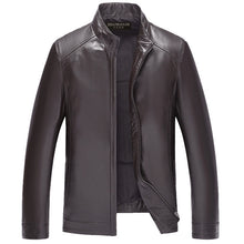 Winter Mens  Leather Jackets Brand Real 100% Sheepskin Coat Jaqueta Couro Male  Leather Jacket For Men