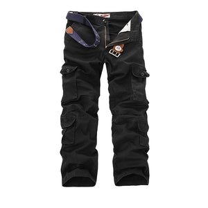 Cargo Pants Men Tactical Military Pants Army Active Combat Clothes Male Baggy Casual Multi Pocket Work Overalls Trousers