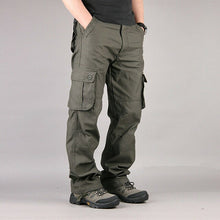 Men Pants Trousers Combat Cargo Forces Work Army Military Pocket Baggy Cotton Ogger Plus Size Casual Black Cargo Pants