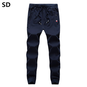 Men's Pants Casual Mens Elastic Waist Trousers 2019 Skinny Work Wear Joggers Sweatpants Male Outdoors Pants Baggy Bottoms 1059