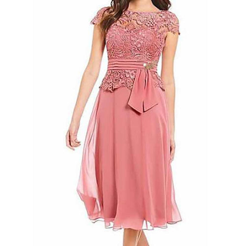 2019 New Dress Women Summer Sexy Floral Formal plus size Vintage Short Sleeve Slim party Dress Sheath Sexy Club Lace Dress