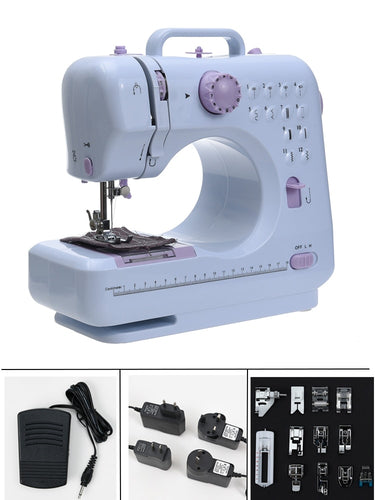 Sewing Machine Sew Russian Manual Fanghua Brand FHSM505 Factory Household Knitting Electrical Mini Portable DC Power Foot Pedal