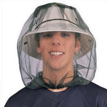 Outdoor Fishing Hats Men Mosquito Head Net Mesh Face Protector Cap Insect Bee Sun fishing hat cap Breathable