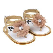 Summer New Baby Flower Pearl Sandals Children Shoes for Girls 2017 Newborn Fashion Princess Sandals Garden Shoes Girl Shoes