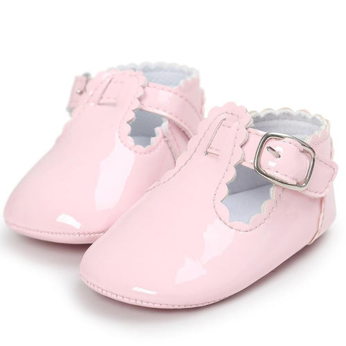 Spring Baby Shoes PU Leather Newborn Boys Girls Shoes First Walkers Baby Moccasins