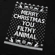 Men Merry Christmas Long Sleeve Cotton Tee Casual Sweatshirt Top Blouse Shirt