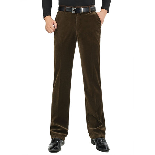 7 Color Classic Man Long Pants New Spring Autumn Loose Casual Trousers For Male Vintage Straight Homme Pants Size 30-46 HLX40
