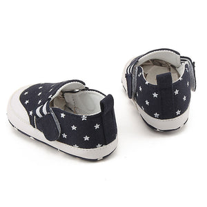 Newborn Infant Baby Girl Boy Print Crib Shoes Soft Sole Anti-slip Sneakers Shoes