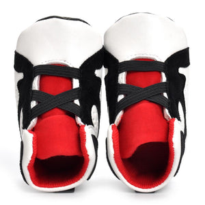 Newborn Infant Kid Girls Boys Crib Shoes Soft Sole Anti-slip Baby Sneakers Shoes