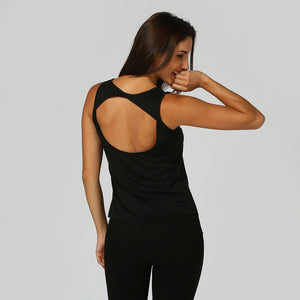 Women Sleeveless Solid Backless Vest Blouse Tank Tops Camis Clothes
