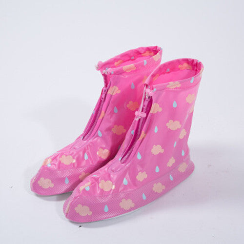 Waterproof Shoe Covers-resistant Women Girls Shoe Covers