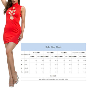 Women Dress Summer Solid Hollow Out Round Collar Sleeveless Tight Slim Chinese Style Formal Dress