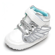 Soft Soled Baby Shoes Flying Wing Decoration Kids Shoes Magic Tape Shoes Warm Keeping Shoes With Front Strap Design