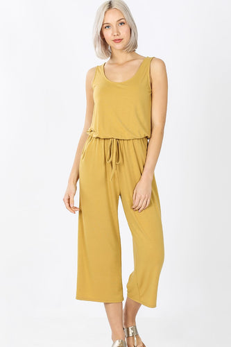 So You Into You Jumpsuit - Mustard - SALE!