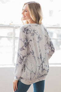 Marble-ous Me Sweater - Ivory - SALE!