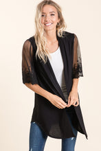Load image into Gallery viewer, Date Night Cardigan - Black - SALE!