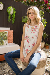 Taylor Floral Tank