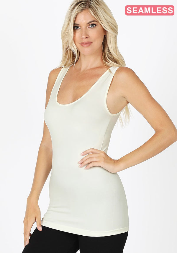 Must Have Layering Tank - Ivory