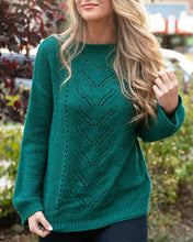 Load image into Gallery viewer, Grace & Lace Baby Loop Knit Sweater ~ Emerald