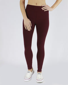 aa19b64ba22cf Grace & Lace Live-in Leggings ~ Wine – 3's Company Clothing Boutique