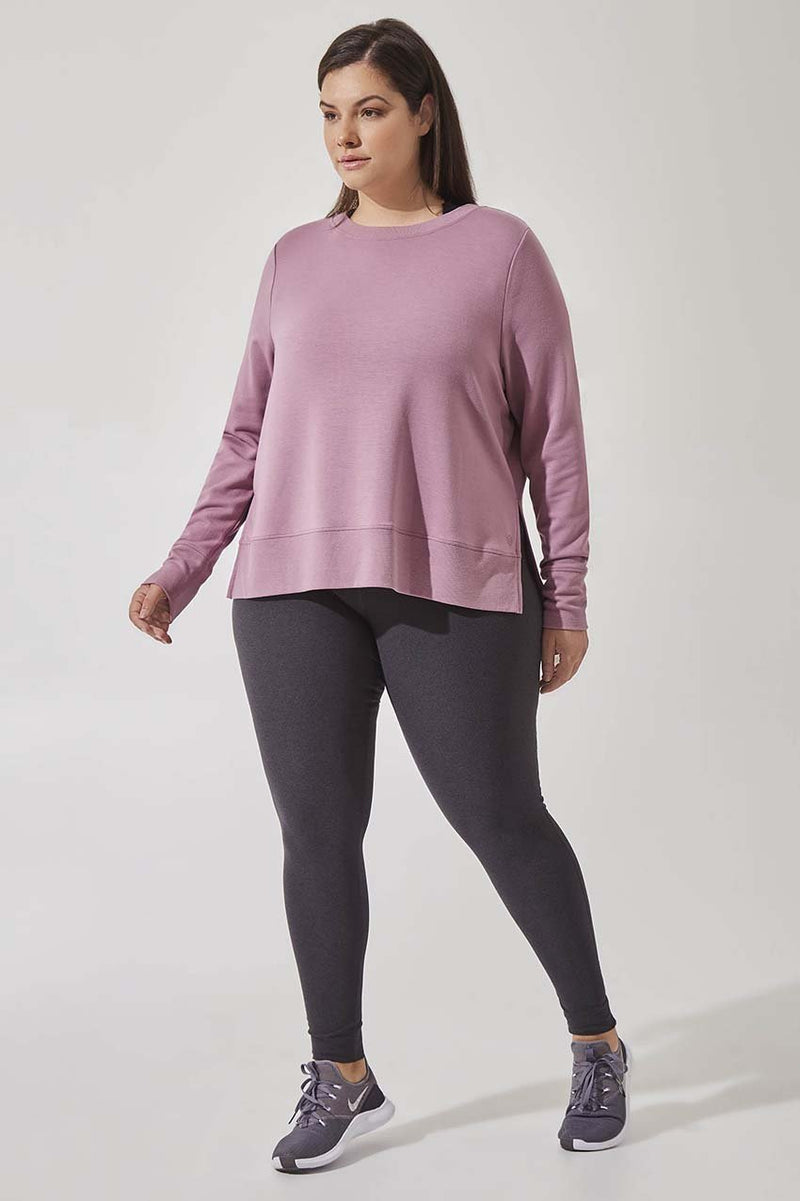 MPG Rapid High Waisted Legging - Heather Charcoal *up to 2x*