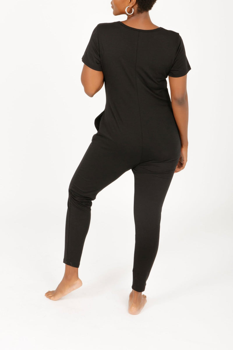 Smash + Tess Sunday Romper - Midnight Black