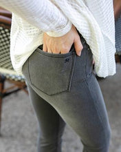 Load image into Gallery viewer, Grace & Lace Ultra Soft Flex Jeggings - Washed Grey - SALE!