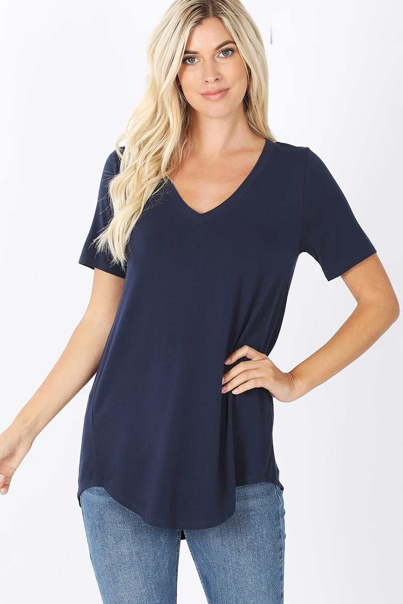 Everyday V-Neck - Navy - SALE!