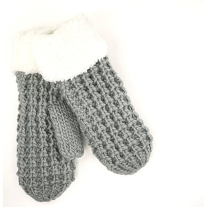 CC Beanie Sherpa Lined Mittens ~ Various Colors!