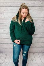Load image into Gallery viewer, Sherpa 1/4 Zip - Hunter Green