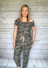 Load image into Gallery viewer, Camo Romper - SALE!