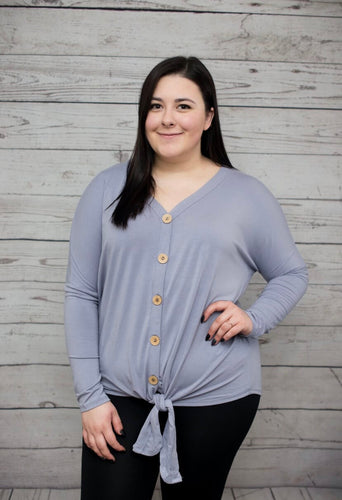 Ultra-Soft Button Down - Lavender - SALE! *up to 3x*
