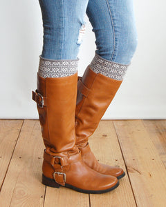 Grace & Lace Patterned Boot Cuffs - SALE!