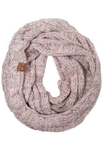Load image into Gallery viewer, CC Beanie Tri-Color Infinity Scarf ~ Various Colors!