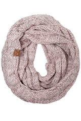 CC Beanie Tri-Color Infinity Scarf ~ Various Colors!