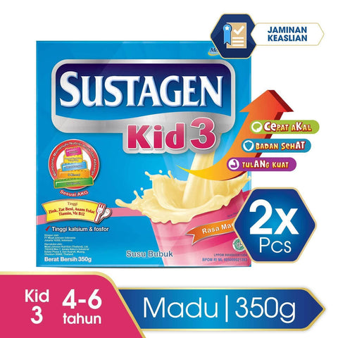 Sustagen Kid Madu Box - 350 g (2x350g)