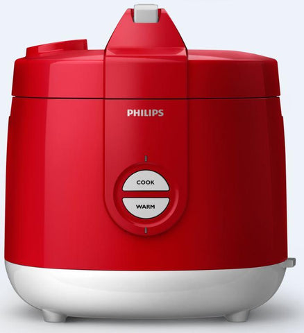 Philips Rice Cooker 2L (HD3131/30) (Blue / Green / Red)