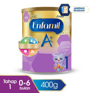 Enfamil A+ Gentle Care 1 Susu Formula Tin - 400 g