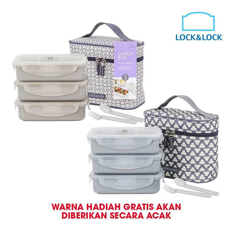 Lock & Lock Lunch Bag Set