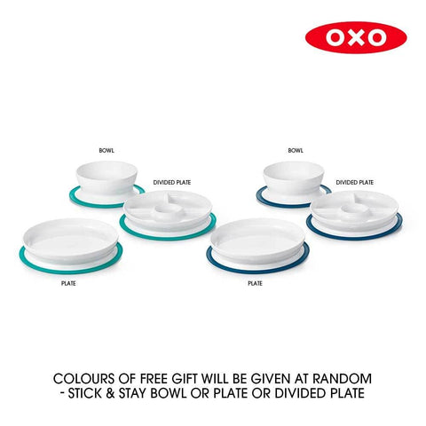 OXO Stick & Stay Bowl / Plate / Divided Plate