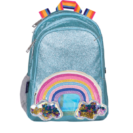 Rainbow, Stars & Glitter Backpack